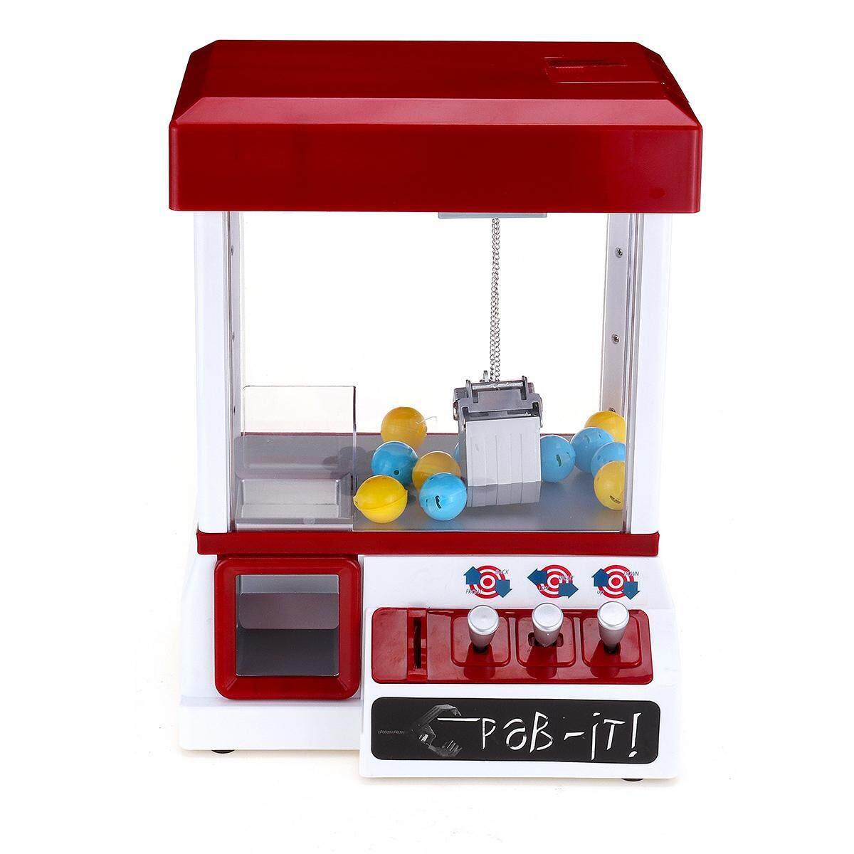24 toys Carnival Claw Game Machine Mini Arcade Grabber Crane  Blue