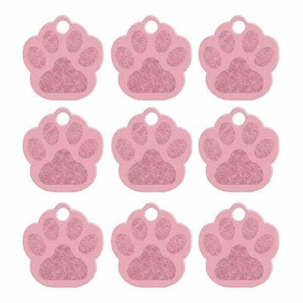 Bán Sỉ 100 Cái Thẻ Tùy Chỉnh Cho Chó Phụ Kiện Vòng Cổ Chó Cưng 3D Cá Tính Thẻ Khắc ID Chó Con Mèo Thẻ Tên Chân Mặt Dây Chuyền Tấm