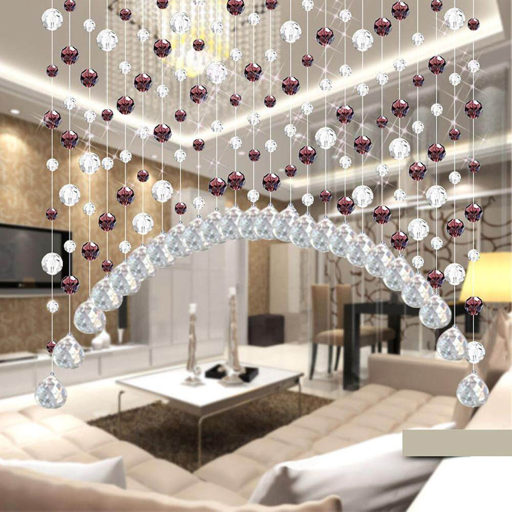 Phenomenal Crystal Glass Bead Curtain Luxury Living Room Bedroom Window Door Wedding Decor Interior Design Ideas Helimdqseriescom