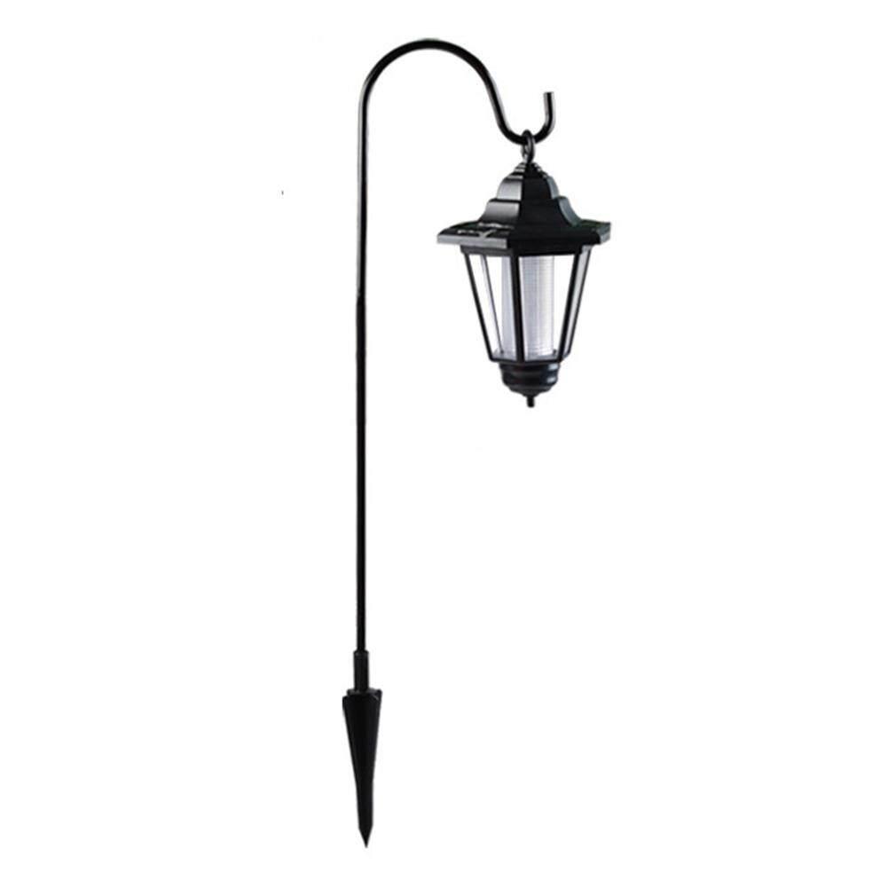 LED Solar Power Light Energy Saving Super Bright Outdoor Yard Garden Decoration Dual Use Shepherd Hook Hanging Solar Lights