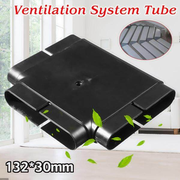 127x27MM Tee Square Connector Pipe Duct PVC Ventilation Fresh Air System Tube Singapore