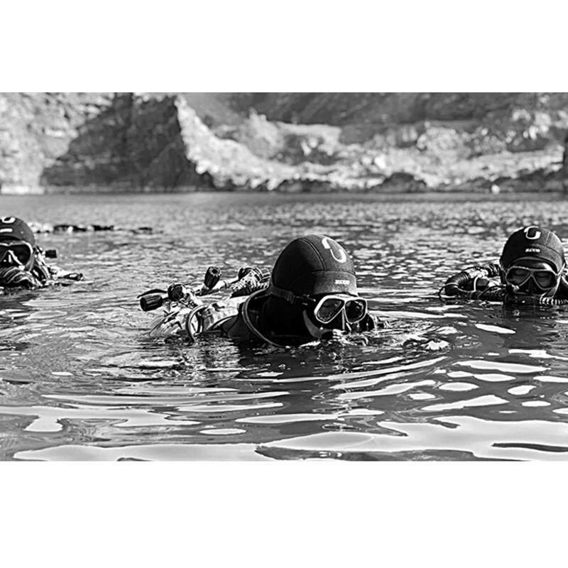 Nam Nữ GIỮ LẶN 3mm Neoprene Lặn Đầu Bao Lặn biển Hood Với Vai Lặn Thiết Bị Quốc Mùa Đông đầm Ấm Đồ Bơi Giữ Nhiệt Spearfishing - 6