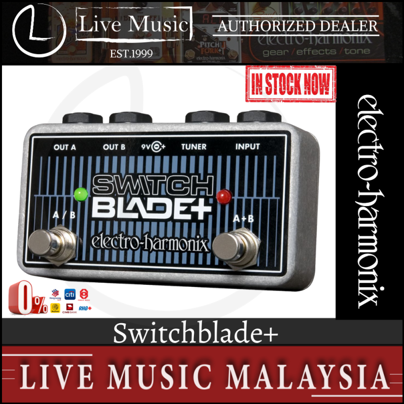 Electro Harmonix Switchblade+ Channel Selector Footswitch Malaysia