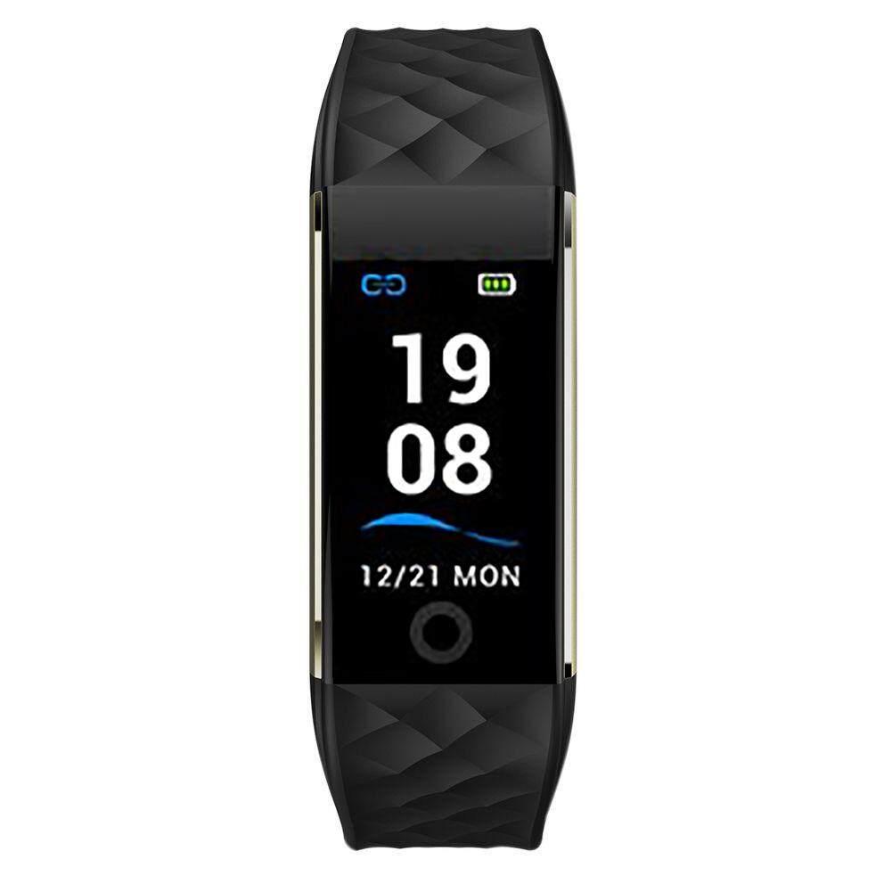 Tahan Air S2 Gelang Smart Watch Kesehatan Tracker Denyut Jantung untuk Android IOS