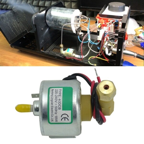 18w 40DCB Oil Pump Fog Machine Water Fogger Atomizer Part Suction Motor IP65 Protection for Dj Show Stage
