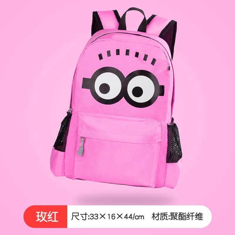 69abdf80a Kids School Bags for Boys Girls Schoolbag Backpacks for Children Backpacks  Mochila Minion Backpack Escolar Infantil