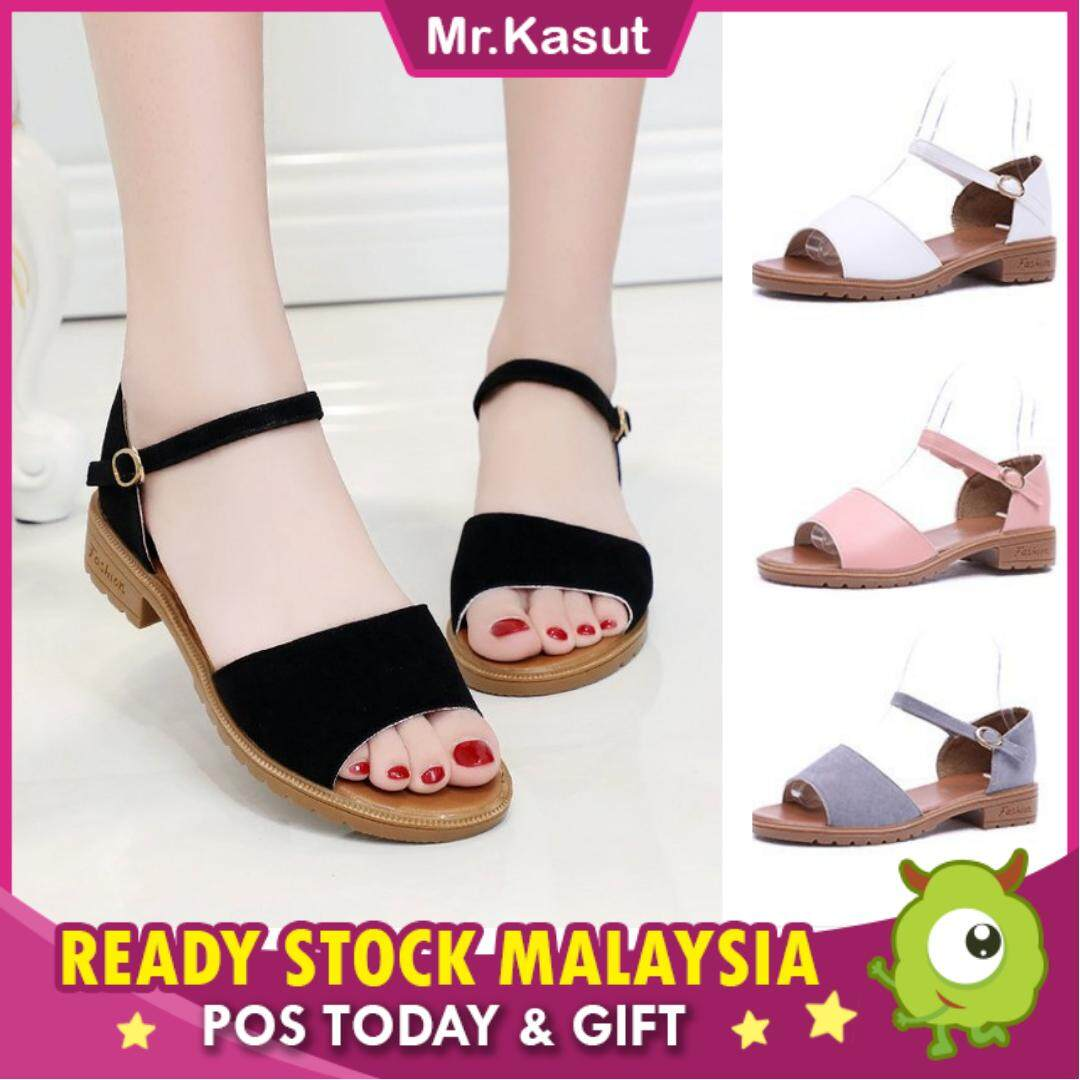 d76d2d79591 KASUT Casual Sandal Flats Shopping Shoes Slippers Kiko (Ready Stock)