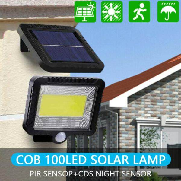 【Free Shipping】 Lifly 100 LED Solar Sensor Lights Separated Motion Detection Security Garden Flood Lamp