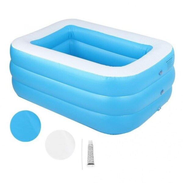 Kids Childrens Home Use Paddling Pool Large Size Inflatable Square Swimming Pool Heat Preservation Kids inflatable Pool