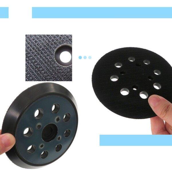Sanding Backing Pad 125mm 8Hole Backing Hook Loop Pad Practical Durable