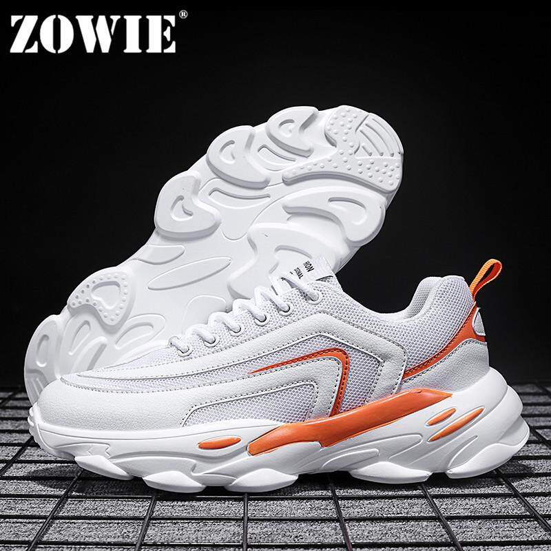 68681615d ZOWIE Men'S Sneakers Outdoor Sports Super Thick Soles Casual Shoes 2019  Summer New Style 3 Colors