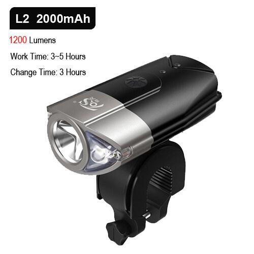 Bảng giá NEWBOLER Bicycle Helmet Light L2 Bike Headlight LED Flashlight USB Rechargeable Lamp MTB Cycling Lantern For Bicycle Accessories