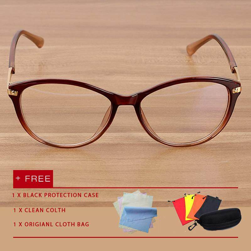 ad9b631b75a Classic men women cat eye eyewear eyeglasses Anti Blue Light Glasses UV Spectacles  flat lens glasses