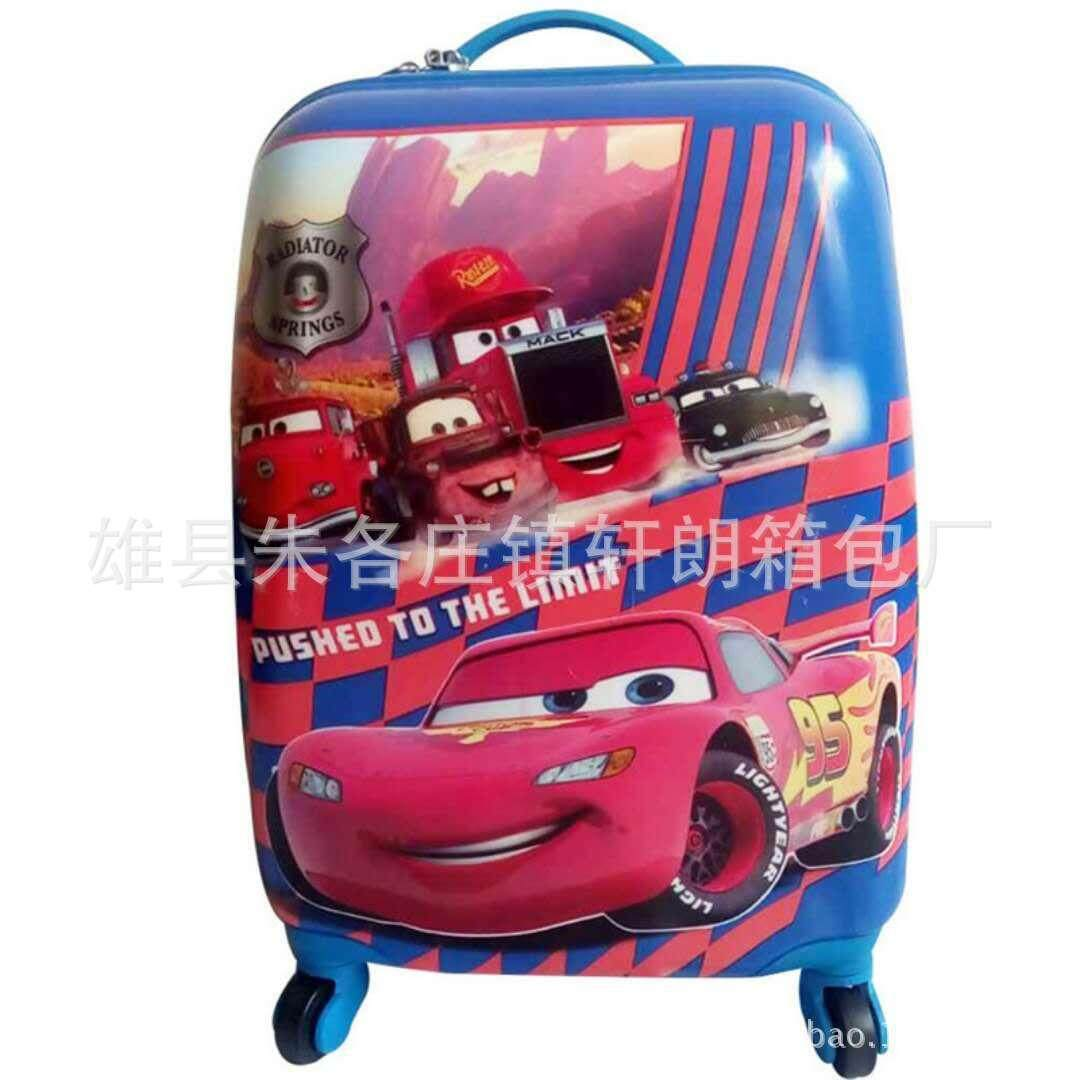 Childrens trolley case 18 inch caster cute cartoon manufacturer custom travel boarding luggage luggage gift customization