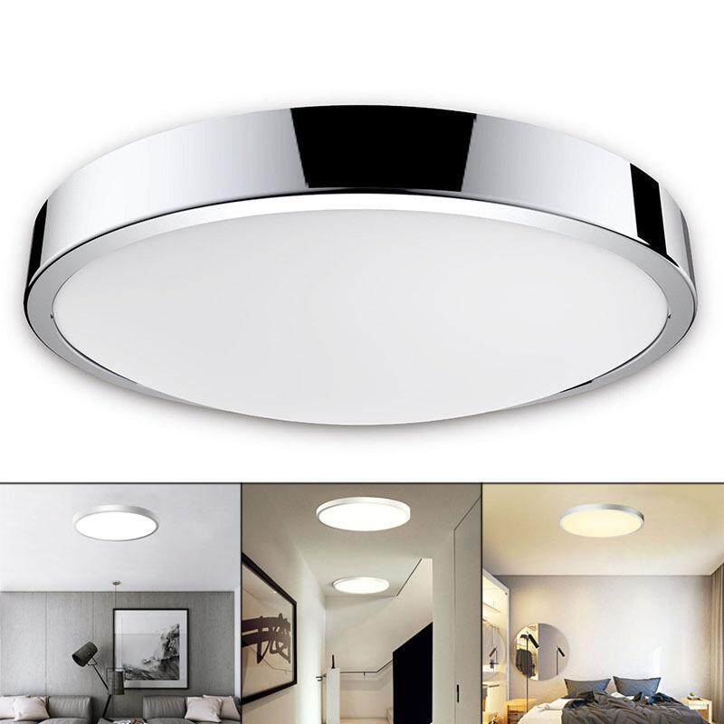 LED Bathroom Ceiling IP44 Waterproof Warm Cool Daylight White Light Fitting