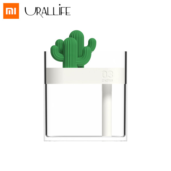 Xiaomi Mijia 319 Cactus Clear Cactus Air Humidifier 160ml Color Light USB Air Purifier Anion Mist Maker Air Humidifier