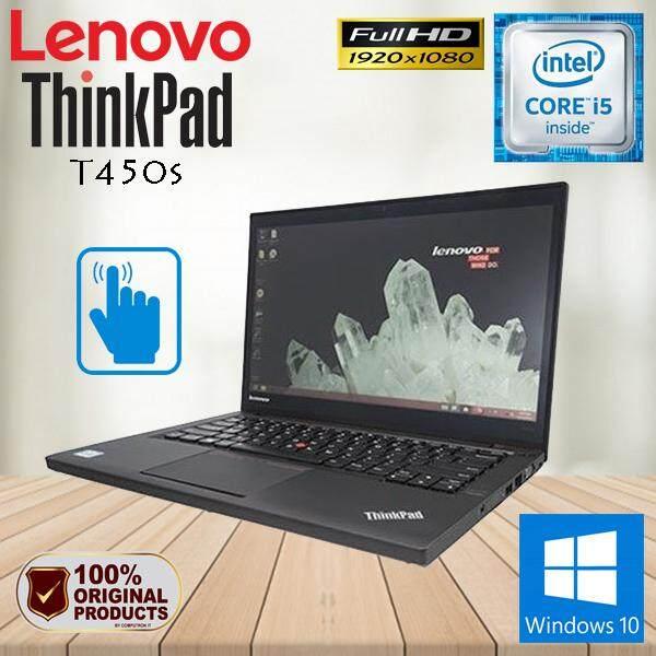 LENOVO THINKPAD T450s ULTRABOOK TOUCHSCREEN - CORE I5 / 8GB / 240GB SSD / FHD /  WINDOW 10 PRO GENUINE [2 YEAR WARRANTY] Malaysia