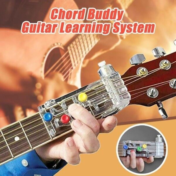 Guitar Chord Buddy Teaching Aid Guitar Tool Guitar Learning System Teaching Aid Accessories for Beginner Ready Stock Malaysia