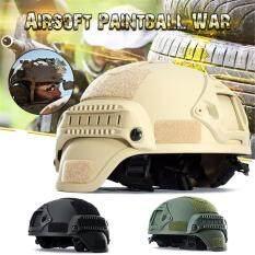 Mới MICH2000 Ngoài Trời Airsoft Chiến Thuật Quân Đội Chiến Đấu Đi Săn Bắn Mũ Bảo Hiểm