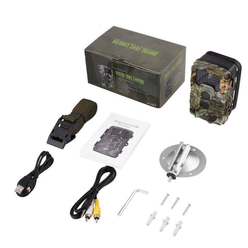 TOP Trail Game Camera Waterproof 12MP 1080P Wildlife Hunting Camera Night Vision