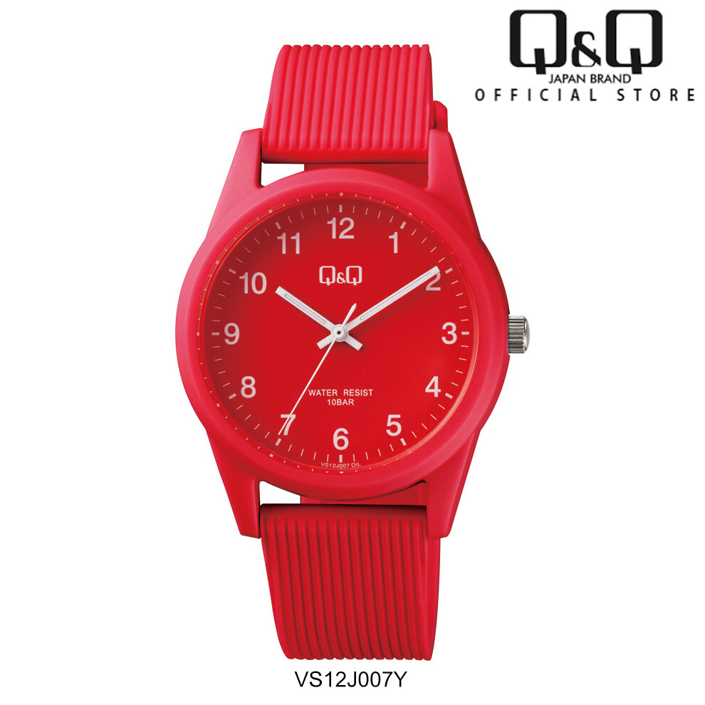 Q&Q Japan by Citizen VS12 Rubber Series Unisex Fashion Watch Malaysia