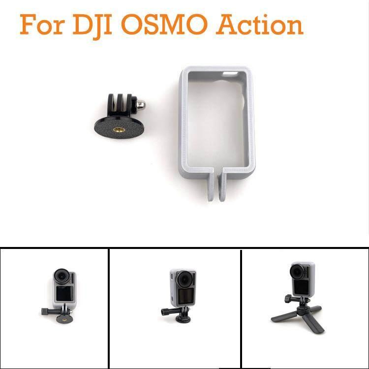 2019 Denetytres untuk DJI Osmo Wadah Kamera Aksi + Vertikal Stan Fotografi Adaptor
