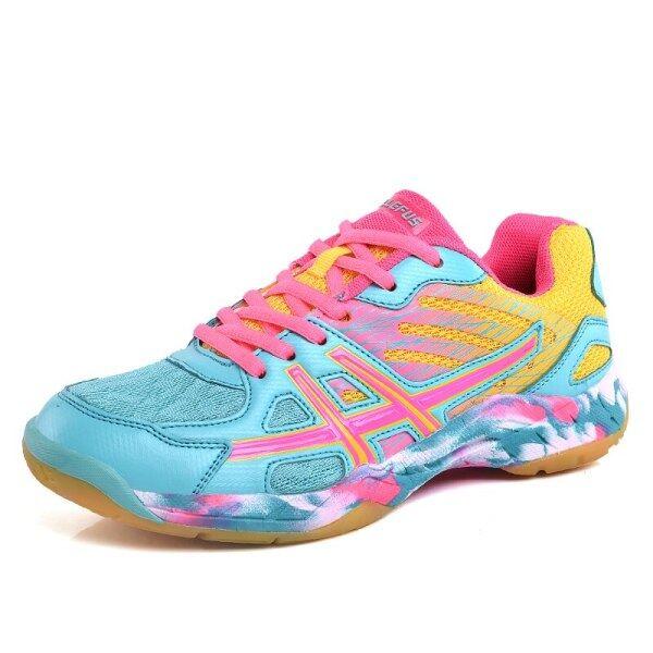 Bóng Chuyền Của Phụ Nữ Giày Với Non-Slip Giày Thể Thao Mặc Giản Dị Giày Sneakers Nam Mềm Trọng Lượng Nhẹ Giày Đánh Cầu Lông Giày Tennis