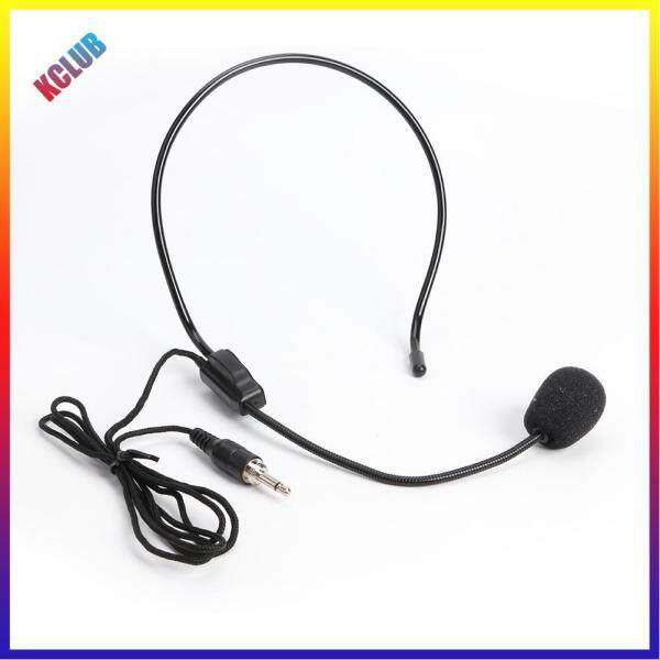 Head Mounted Microphone 3.5mm Wired Headset Mic for Teacher Guide Speech Singapore