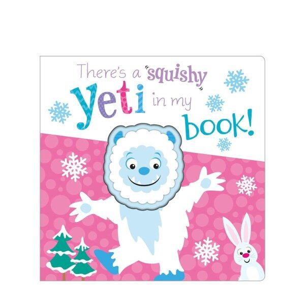 Happikiddo Baby Book - Theres A Squishy Yeti In My Book! (Board Book) Malaysia