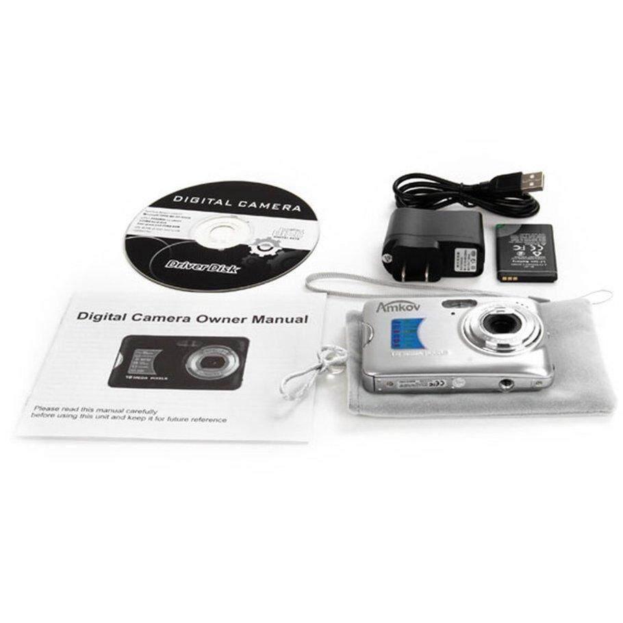 [โปรโมชั่น] Amk-Cdfe ดิจิตอล Camera 8 ล้านพิกเซล 2.7 นิ้วเดินทางกล้อง Hd By Kakagardener.