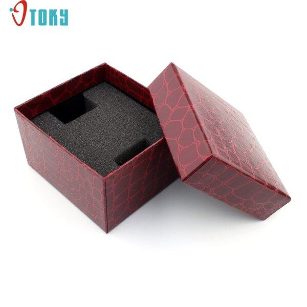 Watch Willby 1pc Red Aligator Pattern Durable Present Gift Boxes Case For Bracelet Bangle Jewelry Watch Box 170106 Drop Shipping Malaysia