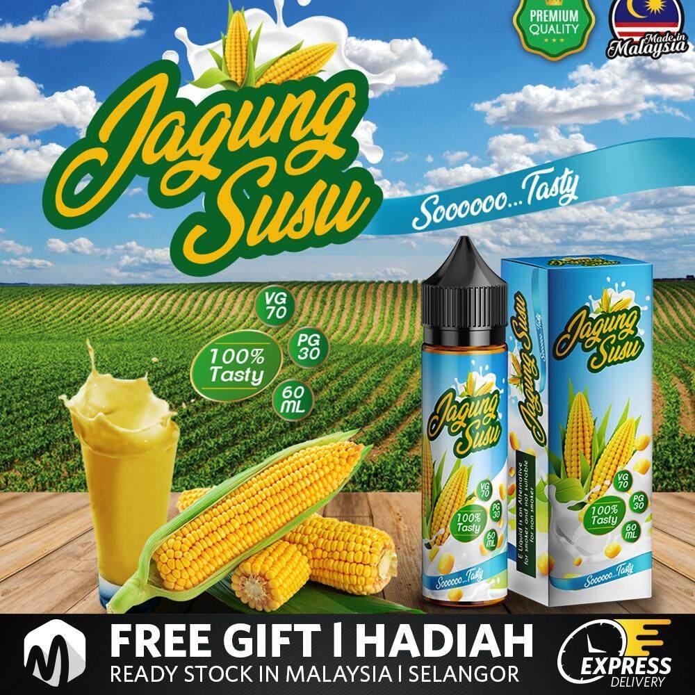 Jagung Susu Sweet Corn Milk 60ML Vape Juice Ready Stock Malaysia