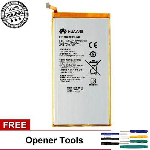 Original Battery Huawei HB3873E2EBC Huawei MediaPad X1 7 0 7D-501L Battery  (Free Opener Tool)