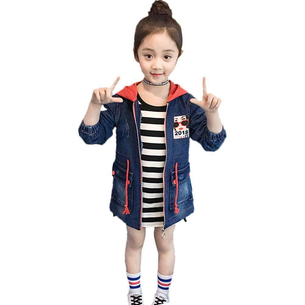 fe57d658f OnLook Children Clothing Kids Cotton Jean Jackets Spring Autumn Fashion Girl's  cardigan denim jacket