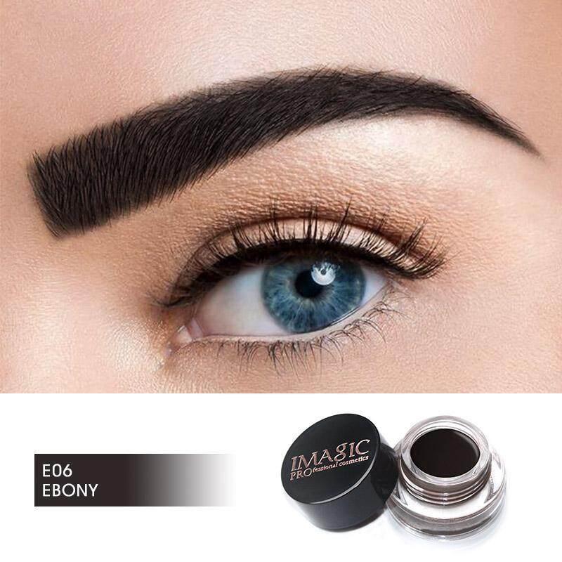 IMAGIC New Arrivals Professional Eyebrow Gel High Brow Tint Trang Điểm Lông Mày Nâu Lông Mày Gel Với Brow Brush Công Cụ giá rẻ