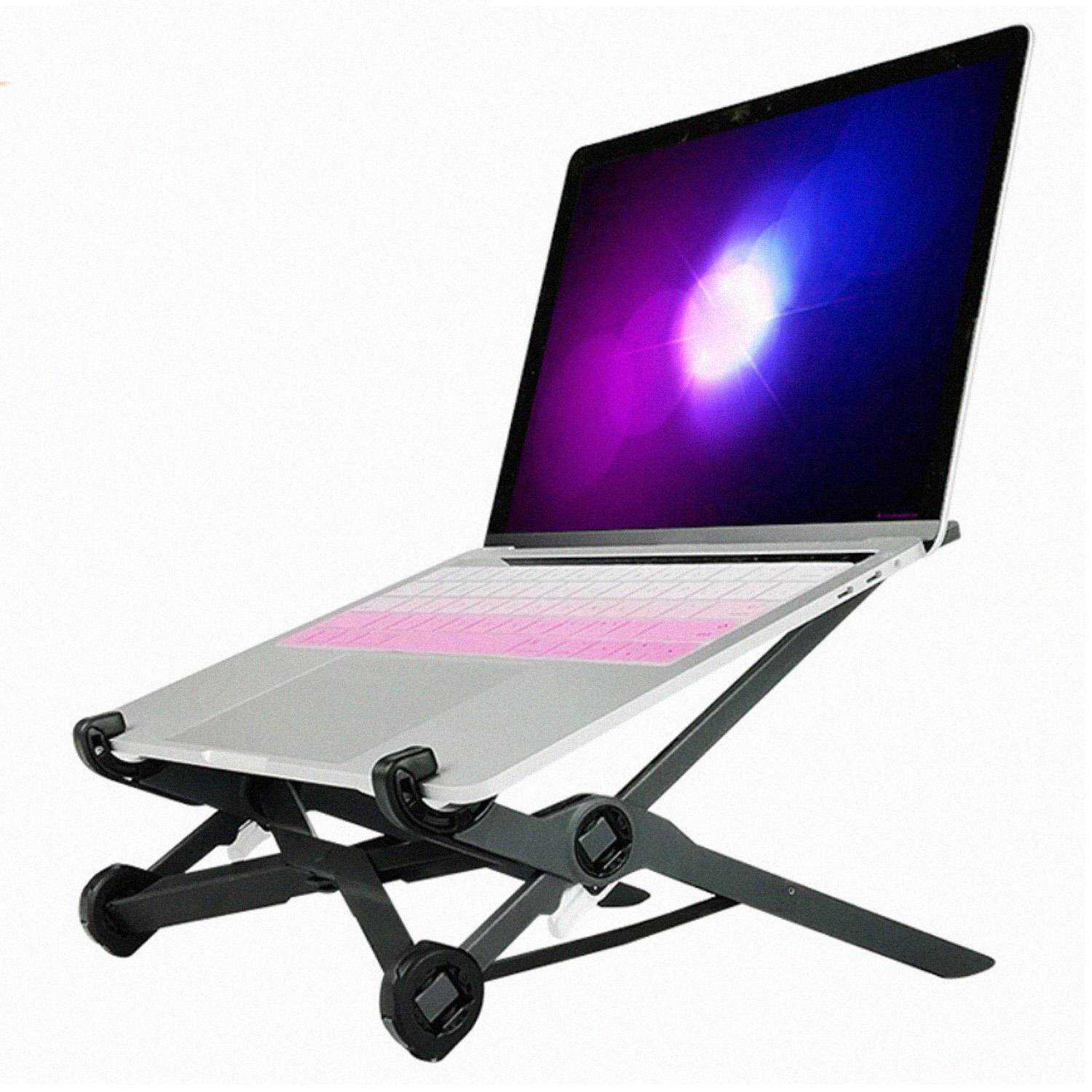 Portable Foldable Cooling Bracket Stand Holder with Adjustable Height Compatible with Samsung Lenovo Dell Notebook Laptop Malaysia