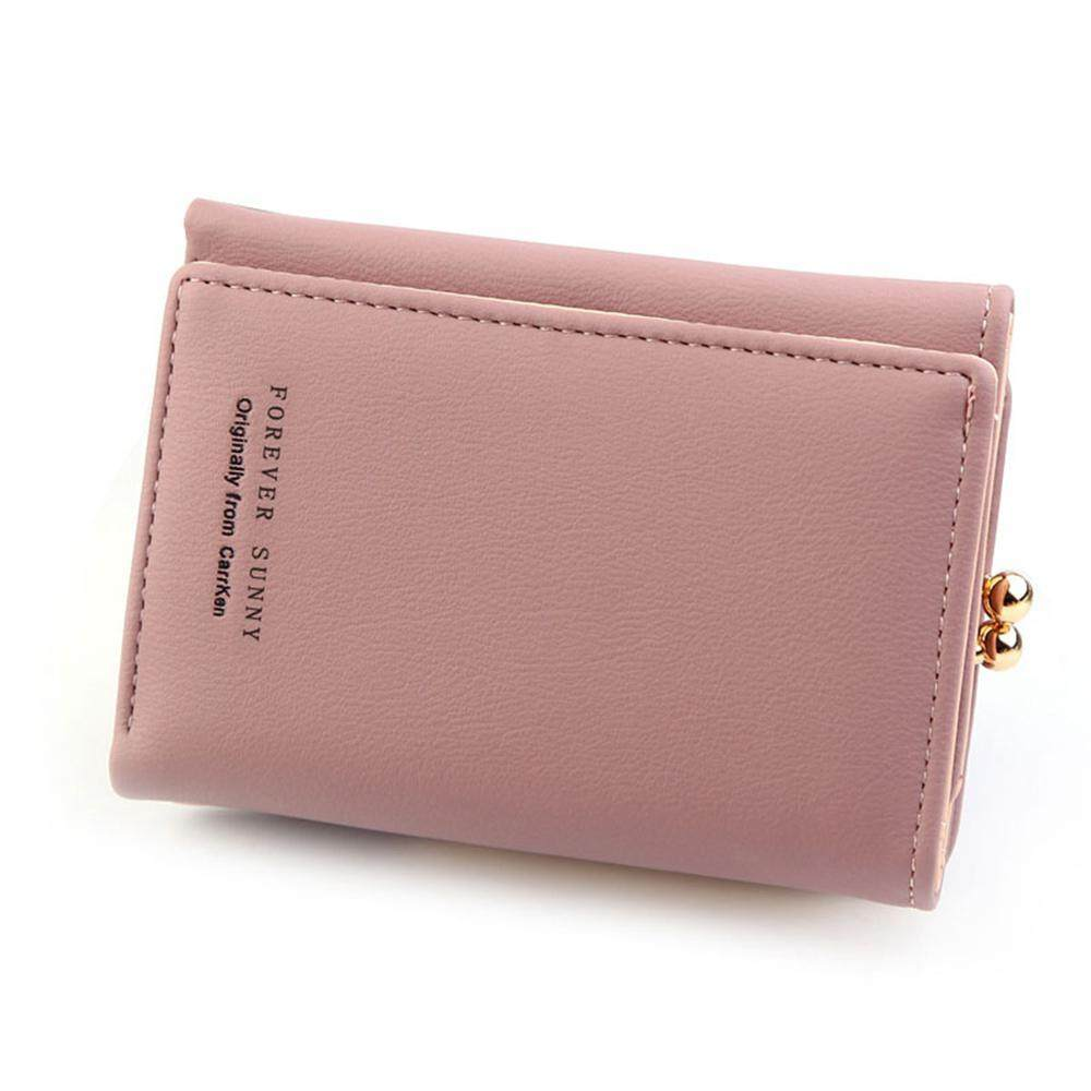 7d3e69c3f389 BuyInBulk Small Wallets for Women Bifold Leather Short Wallet Lady Mini  Purse Card Case Holder with ID Window
