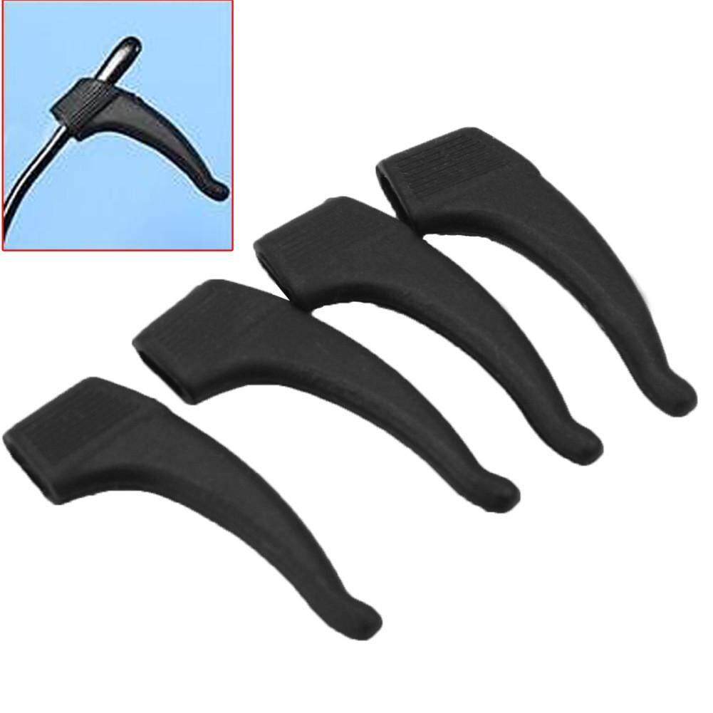2 Pairs Silicone Glasses Ear Hooks Tip Eyeglasses Grip Anti-Slip Temple Holder By Lgpenny.