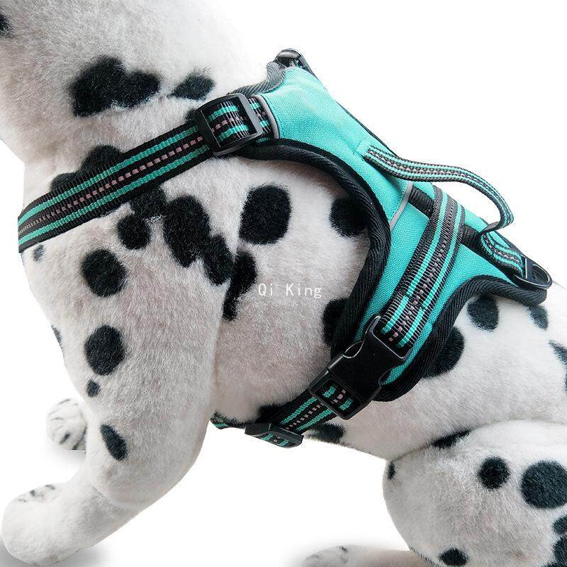 Qi King Reflective Chest Strap Dog (size:s) By Qi King.
