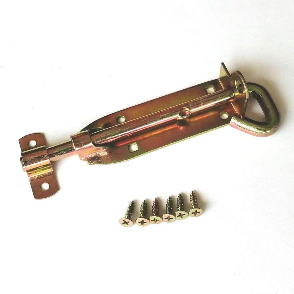 Lockable Heavy Duty Pad Bolt Door Latch (6)