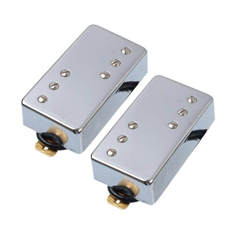 Two Line 6 Hole Electric Guitar Humbucker Pickup for LP Guitar Chrome Guitar Accessories