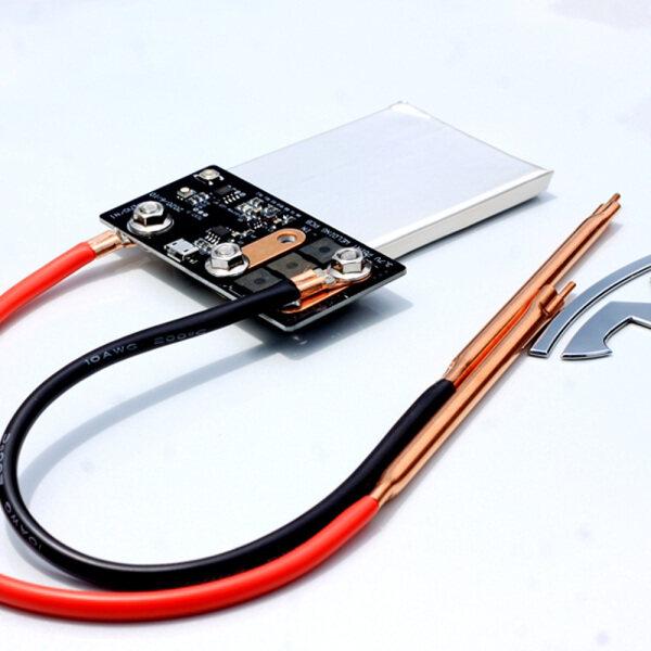 Bảng Điều Khiển PCB Hàn Điểm 3.7V Bộ Điều Khiển Tự Làm Nối Tiếp Với 2 Đèn Báo Tích Hợp Pin Lithium Công Suất Cao