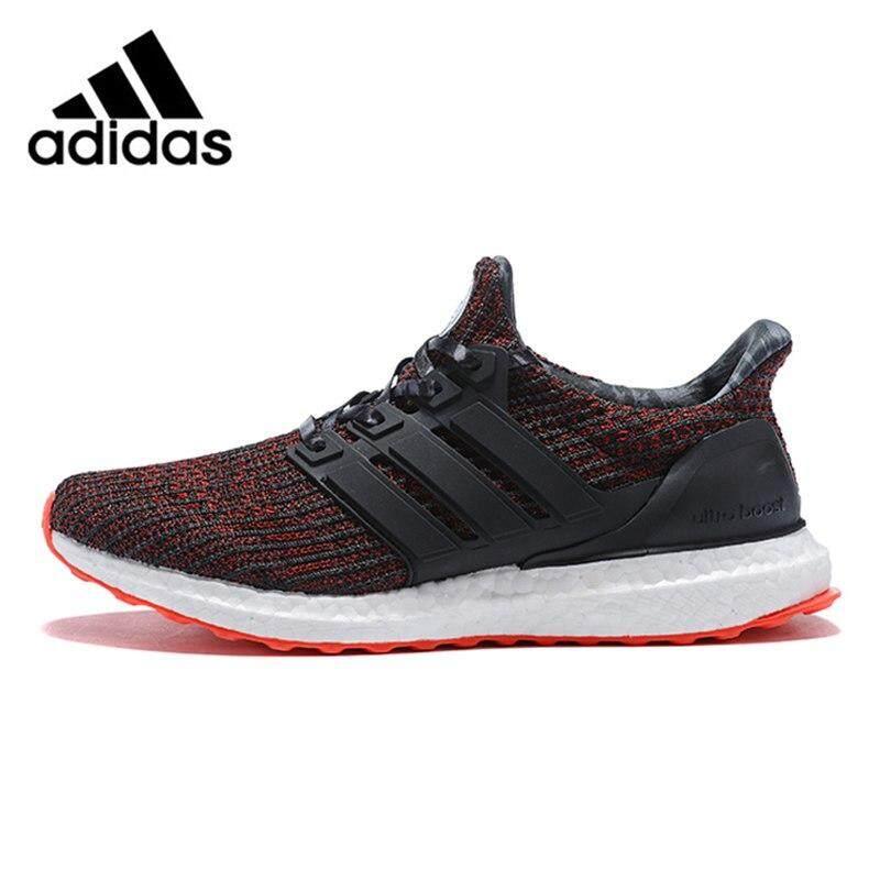 c1d59bc8ce Asli Otentik ADIDAS Ultra BOOST Pria Sepatu Lari Ringan Berpori Jaring  Sepatu Sneaker untuk Kestabilan Sepatu