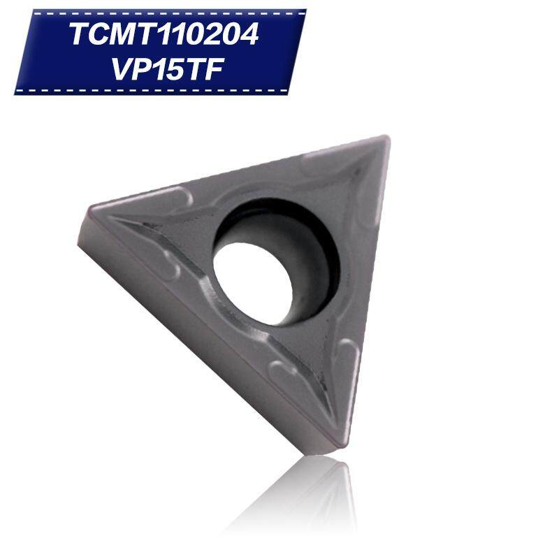 10 chiếc TCMT110204 VP15TF Carbide Chèn Nội Bộ Dụng Cụ Quay Rau Cắt CNC Dụng Cụ Tiện dụng cụ dao Phay