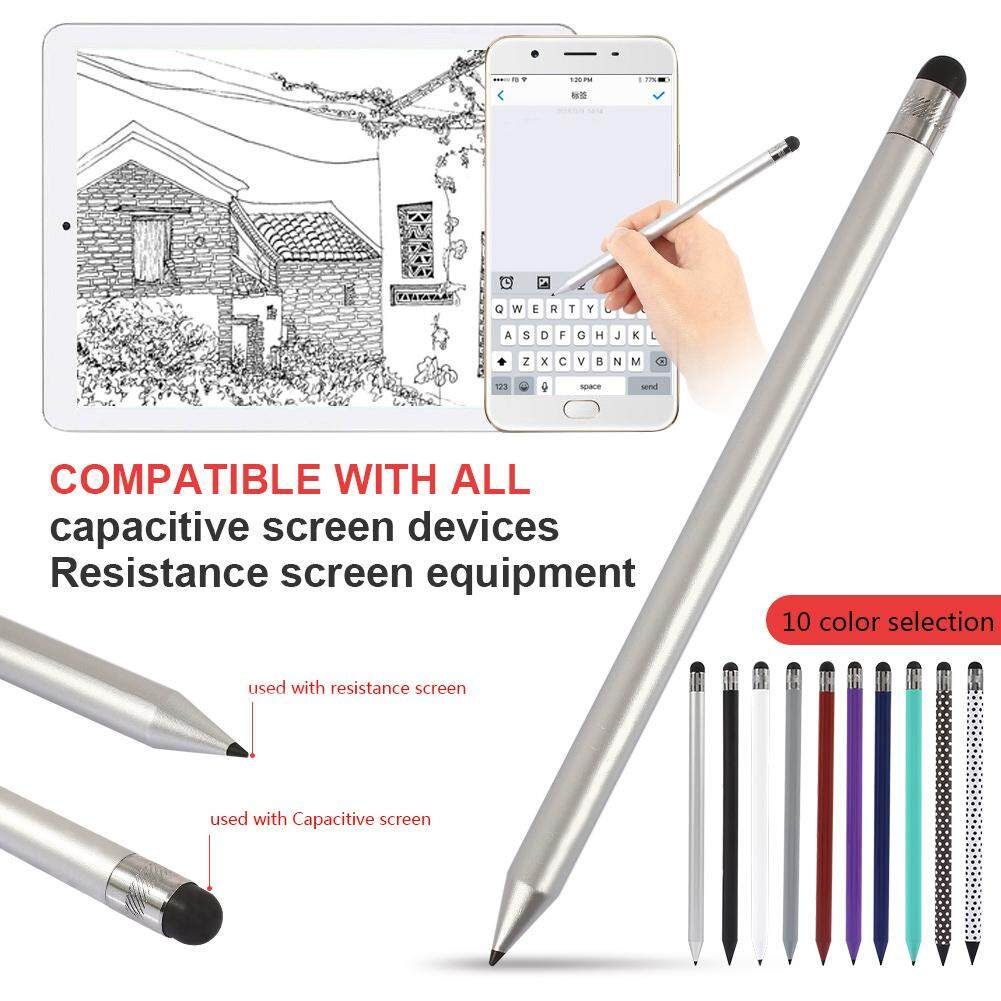 Styluses Tablet Pen Fashion Round Pencil Styled Carbon Plastic Painting Electromagnetic Screen For Ipad By Oscar Store.