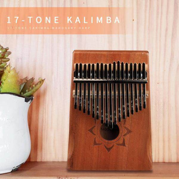 17 Keys Kalimba Musical Instrument Wood Mahogany Thumb Finger Piano African Sanza Mbira for Beginner Malaysia