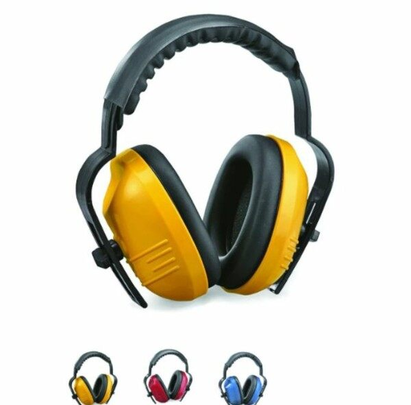 Proguard SNR 27 db Vito Earmuff With Rubber Head Band Adjustable Height