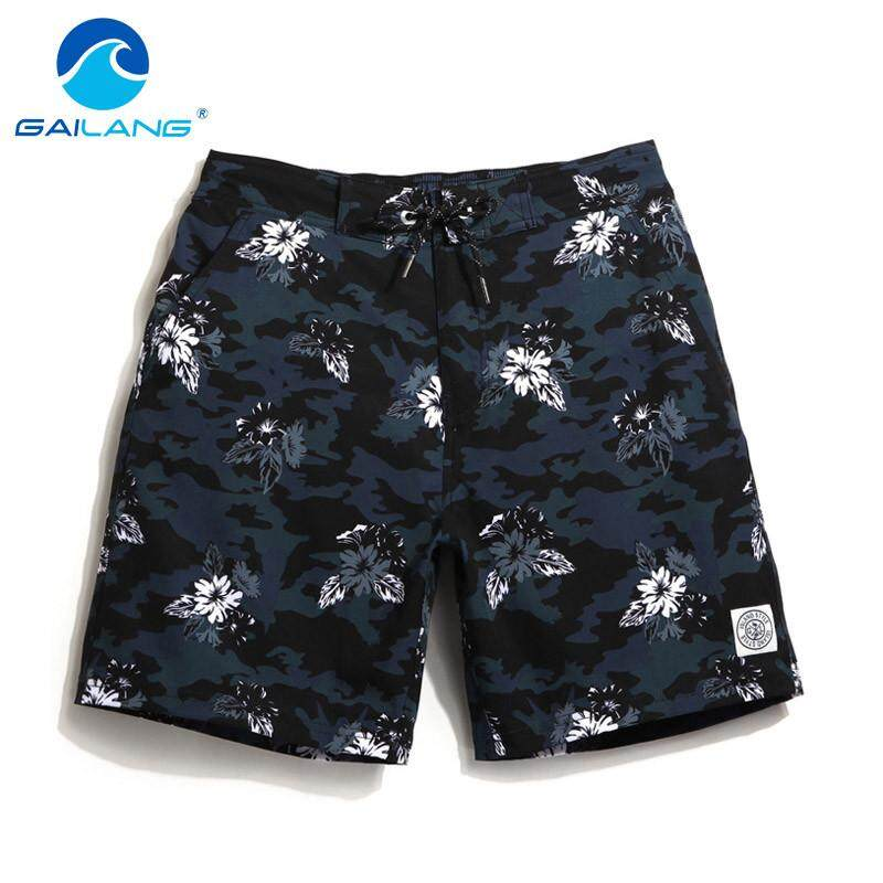 d6ae980e8b GAILANG Beach Pant Leisure Men Shorts Quick Drying Swim Shorts Trunks  Surfing Sport Swimwear Bathing Suit