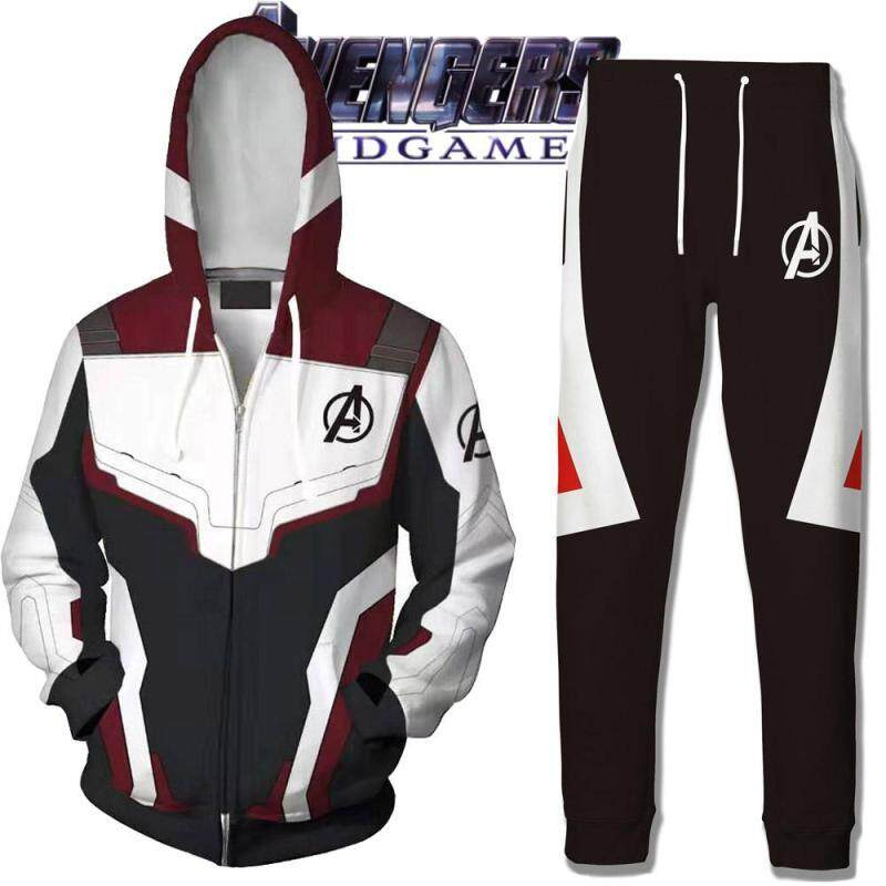 eeed092b7 2019 Avengers 4 Avengers Endgame Quantum Realm Sweatshirt Jacket Advanced  Tech Hoodie Cosplay Costumes 2019 New