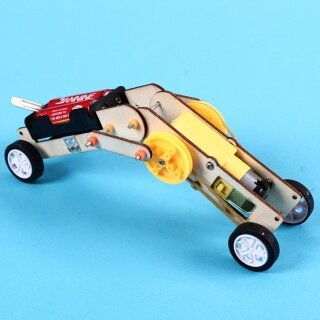 Microgood Kid DIY Hội Điện Bò Worm Robot Mô Hình Thí Nghiệm Khoa Học Trường Học Đồ Chơi thumbnail